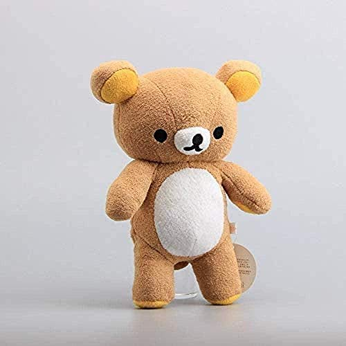 Peluches Rilakkuma Plush Cute Relax Kuba Bear Teddy Bear Dolls 28cm Niños Peluches