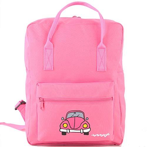Cállate la boca Set 3pcs rosa (mochila + bolsa almuerzo + estuche)