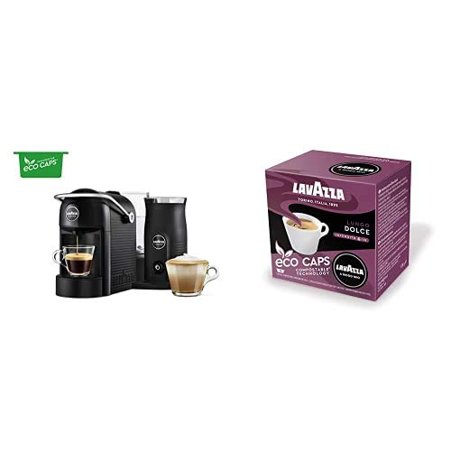 41Airw12B2L. SS500  - Lavazza A Modo Mio Jolie & Milk Coffee Machine, with Milk Frother, Black