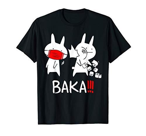 Baka! Idiot! Funny Japanese Anime Shirt For Men Women Gift T-Shirt