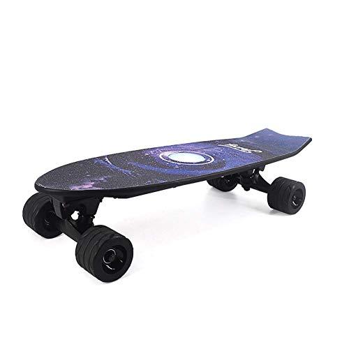 Elektrisch Skateboard, waterdicht anti-slip dek, Dynamic Board vier wielen Scooter, hoge slijtvaste Round Fish Plate for Volwassen Kinderen zhihao