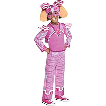 Party City Skye Light-Up Halloween Costume for Girls PAW Patrol Small 4-6 Includes Jumpsuit Headpiece and Backpack