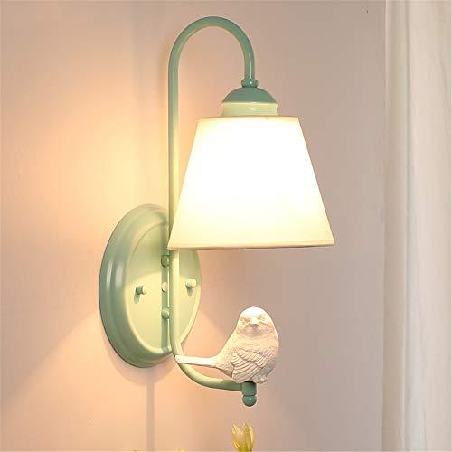 Wyaenghai wandlamp, modern, minimalistisch, woonkamer, slaapkamer, nachtkastje, decoratie, wandlamp, Nordic kleine engel, tuin, vogels, slaapkamer, decoratie, kinder-wandlamp