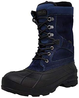 Kamik Men's Nationplus Boot, Navy 10.5 M US