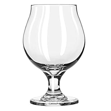 Libbey Glassware 03808 Belgian Beer Glass, 16 oz. (Pack of 12)