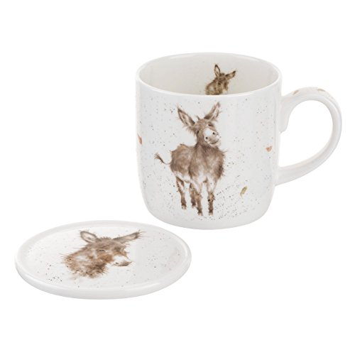 Royal Worcester Wrendale Designs Gentle Jack Mug & Coaster by Wrendale Designs