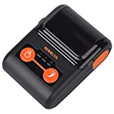 Rongta Mobile Thermal Receipt Printer Portable Mini Printer Bluetooth+USB 58MM for Business ESC/POS, Compatible with iOS, Android, Windows, Support Multi-Language, Do Not Square, RPP02B