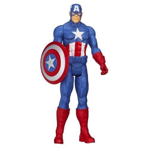 Marvel Avengers Titan Hero Series Capitan America Action Figure