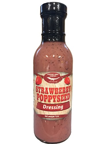 Newport Jerky Company Strawberry Poppyseed Gourmet Salad Dressing