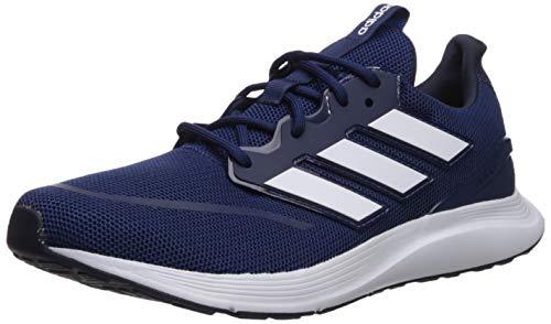 adidas Men's EnergyFalcon Running Shoe, Dark Blue/White/Collegiate Royal, 10 M US
