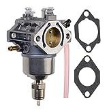WOOSTAR Carburador con Juntas Tubo Gasolina Reemplazo para AM122605 M97274 M97275 LX186 GT262 GT275 F525 325 180 185 260 265 Cortacésped Tractor