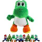 "FAIRZOO Yoshi Plush Toy Stuffed Collection, 13"", .Green"