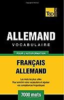 Vocabulaire Francais-Allemand Pour L'Autoformation - 7000 Mots