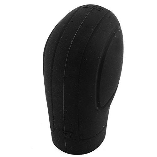 uxcell Black Soft Silicone Nonslip Car Shift Knob Gear Stick Cover Protector
