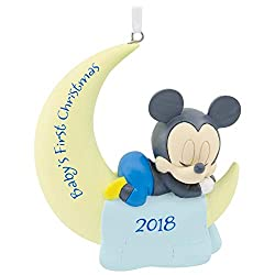 baby's first christmas ornament mickey