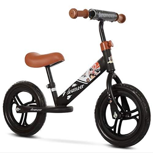 Dsrgwe Vélo Bébé Draisienne,Vélo d'équilibre, Draisienne, 12' Les Enfants Strider vélo, Pas de...