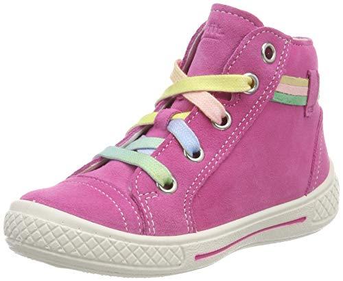 Superfit Mädchen Tensy Hohe Sneaker, Pink (Pink Kombi 64), 34 EU