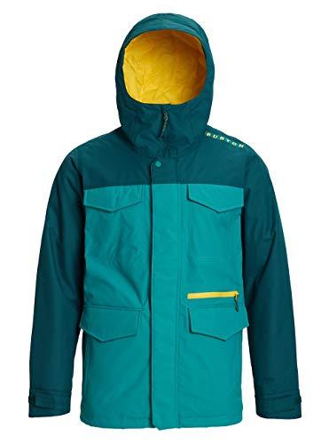 Burton Herren Covert Snowboard Jacke, Green-Blue Slate/Deep Teal, XL