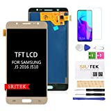 SRJTEK pour Samsung Galaxy J5 J510 écran LCD,pour J5 2016 J510F J510F/DS J510G/DS...