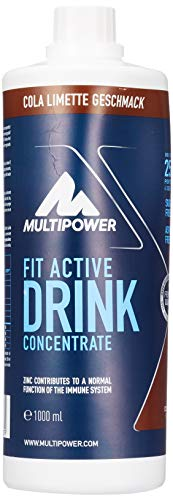 Multipower Fit Active Drink Concentrate Cola Lime, 1 l