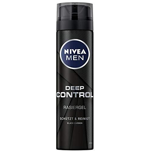 Nivea Männerpflege Rasurpflege Deep Clean Shave Rasiergel 200 ml