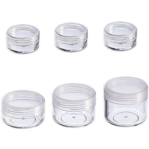 Vide Pot cosmétique, Contenant réutilisable,Clear,2g