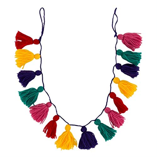 Sass & Belle Fiesta Fun Tassel Multi Coloured Yarn Garland