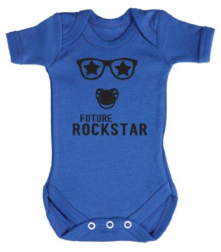 Baby Buddha - Future Rockstar Bodys bébé 0-3 Mois Bleu