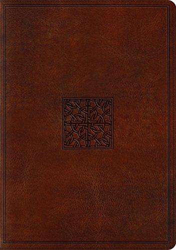 ESV Study Bible (TruTone, Walnut, Celtic Imprint Design)