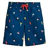 Disney Mickey Mouse Summer Fun Swim Trunks for Boys, Size 4