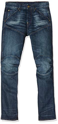 G-STAR RAW Herren 5620 Elwood 3D Tapered Jeans, Blau (dk Aged 8595-89), W28/L32
