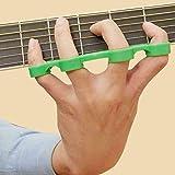 Finger Sleeve Trainer Handgriffe Exerciser für Gitarre Bass Klavier Ukulele Musik, Finger Expansion...