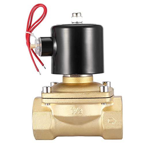 Válvula solenoide eléctrica de gran caudal 220 V CA 1-1/2