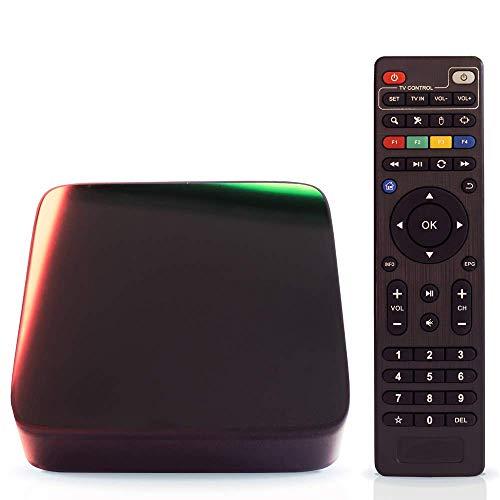 Aoxun Android 7.1 TV Box H96 Pro+ Plus Set-Top Box Inteligente 64 bits 3 GB de RAM 32 GB de ROM con WiFi Inteligente Smart TV Box Bluetooth 4.1 y True 4K Jugando