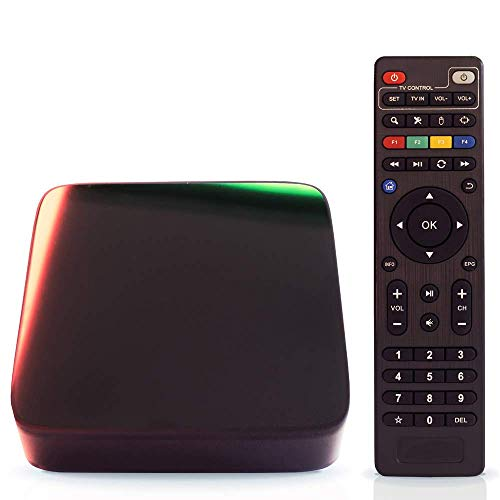 TV Box Android 7.1 - Aoxun H96 Smart TV Box [2018 letzte Generation] Amlogic S912 Octa-Core, 3 GB RAM & 32 GB ROM, Video 4 K UHD H.265, 2 Ports USB, HDMI, WiFi Web Dual Band und Bluetooth 4.1 TV Box