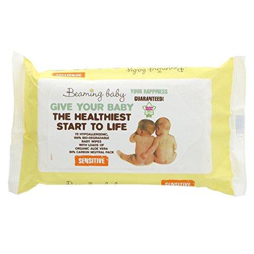 Beaming Baby - Organic Wipes - Toallitas húmedas orgánicas - 864 toallitas