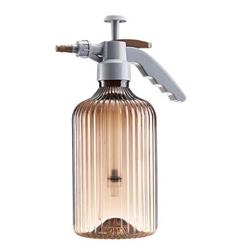 Newin Star Botella de riego del jardín Planta de riego pulverizador de gatillo Aerosol de la Niebla Botella Manual para el jardín Flor de la Planta de Amber Brown
