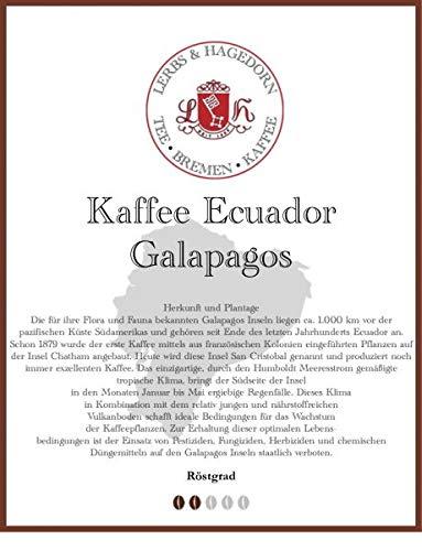 Ecuador Galapagos Kaffee 1kg