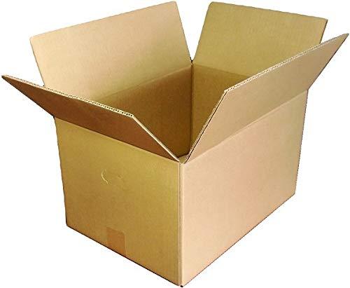愛パックダンボール ダンボール箱 100サイズ A3対応 10枚 段ボール 日本製 無地 持ち手付き