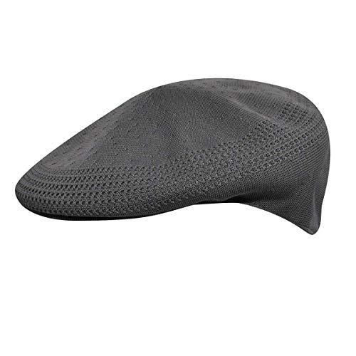 Kangol Headwear Tropic Ventair 504 Casquette Plate, Gris (Charcoal), Medium (Taille Fabricant:M) Homme
