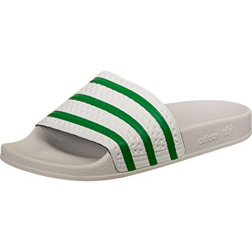 adidas Adilette, Chancletas para Hombre, Gris (Dash Grey/Green/Dash Grey), 38 EU