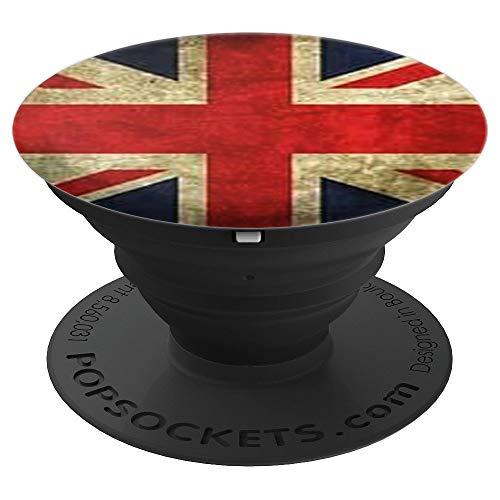 Nationalflagge Union Jack Britische Königliche Flagge London - PopSockets Ausziehbarer Sockel und Griff für Smartphones und Tablets
