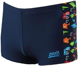Zoggs Boys Shark FEVER Natation Short 1-7 ans maillot de bain coloré bleu marine poisson
