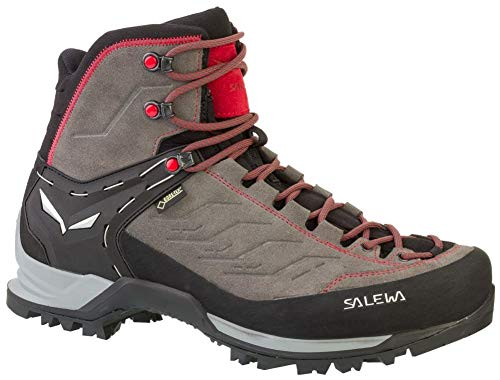 Salewa MS Mountain Trainer Mid Gore-TEX Trekking- & Wanderstiefel, Grau (Charcoal/Papavero 4720), 42.5 EU