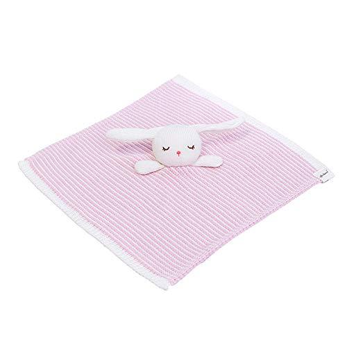 YYJDM-Bequeme Plüsch-Kaninchendecke, Baby Sleep Smooth Toy, Babyparty-Geschenk, Kuscheltierdecke, Baby-Sicherheitsdecke, Kaninchen