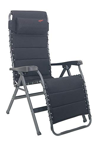 DIE SUPER WELLNESSLIEGE - Crespo Relaxliege mit verstellbarem Kopfteil Bezug 3 D AIR De Luxe - SCHWARZ - - VERTRIEB - holly sunshade - GEGEN AUFPREIS LIEFERBAR MIT HOLLY FÄCHERSCHIRMEN - Holly® Produkte STABIELO - INNOVATIONEN MADE in GERMANY -