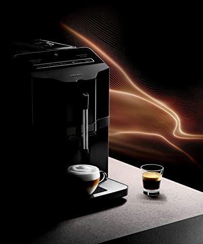 Siemens TI30A209RW EQ.3 S100 Machine à café automatique, broyeur à grain, 1.4 L, Noir