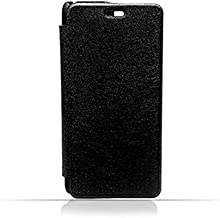Lenovo K6 Note Black Frosted PU Leather Flip Cover
