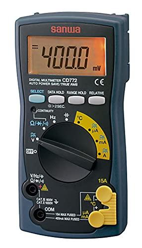 SANWA デジタルマルチメータ CD772