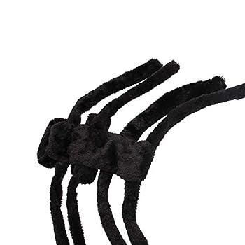 Rrunzfon Animaux Halloween Costume Araignée Animaux Portable Intéressant Costume pour Petit Moyen Chiens Halloween Party Décoration M